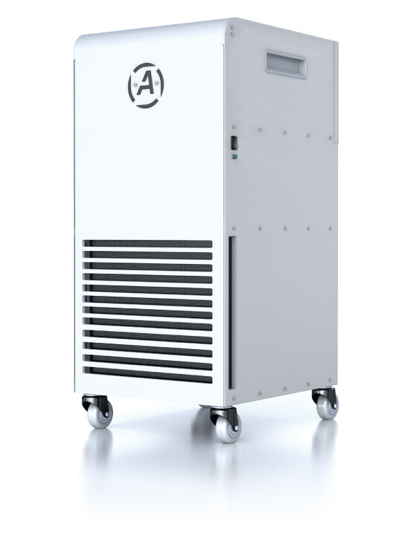 aerocure-200-portable air purification systems in resident senior care environments
